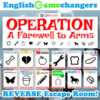 A Farewell to Arms REVERSE Escape Room! Operation-Themed Break IN to Hemingway