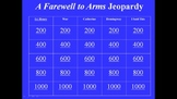 A Farewell to Arms Review Game and Test
