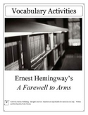 A Farewell to Arms by Ernest Hemingway Vocabulary Unit Plan
