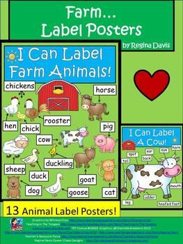 A+ Farm Label Posters