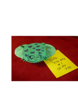 """A Father's Day Project - """"Dad Your #1 on My Pad!"""""""