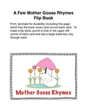 Mother Goose Rhymes Flip Book
