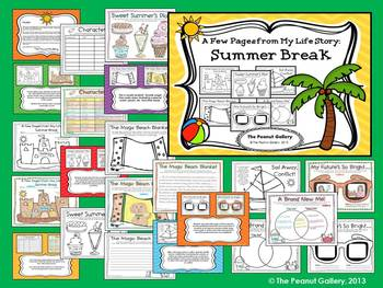 Back to School: A Few Pages From My Summer Break (ELA Activity)