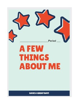 A Few Things About Me