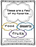 A Few of My Favorite...Opinion Writing and {Differentiated} Graphic Organizer