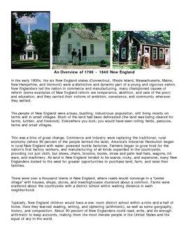 A Field Trip to Old Sturbridge Village, Massachusetts