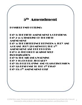 A Fifth Amendment Unit