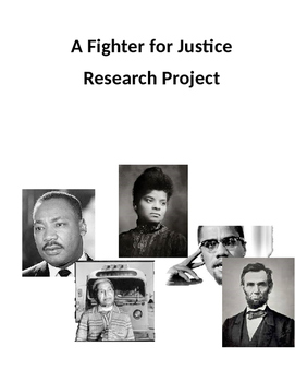 A Fighter for Justice Research Project