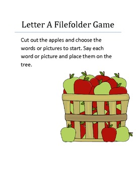 A Filefolder game