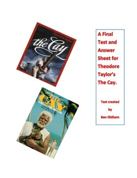 A Final Test and Answer Sheet for The Cay