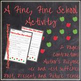 A Fine, Fine School Activity