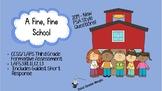 A Fine, Fine School  - FSA/CCSS standards