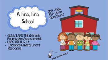 A Fine, Fine School  - Formative Assessment