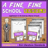 A Fine Fine School Literature Standards Support Pages for