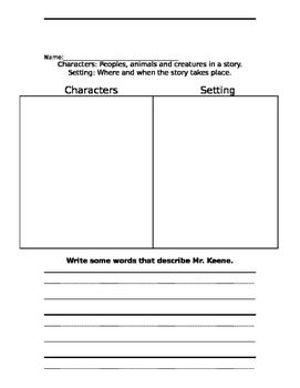 A Fine Fine School  Common Core Lesson Plan and Worksheets