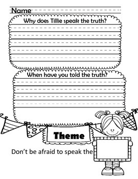 A Fine, Fine School Comprehension Packet