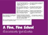 A Fine, Fine School Discussion Questions