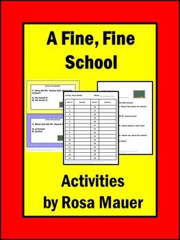 A Fine, Fine School Guided Reading Comprehension