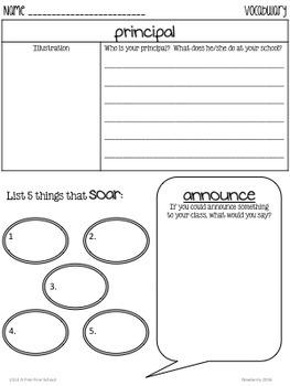 A Fine, Fine School: Journeys 3rd Grade (Unit 1, Lesson1)