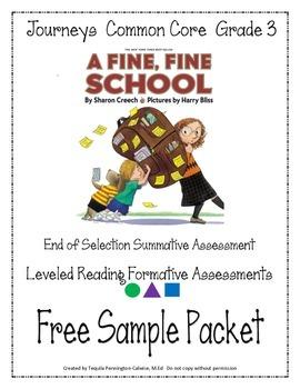 A Fine Fine School Journeys Common Core Grade 3 By border=