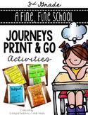 A Fine, Fine School Journeys Third Grade Print and Go Activities