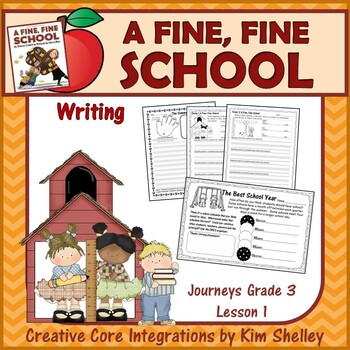 A Fine Fine School Language Arts BUNDLE Journeys Gr3L1