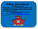 A Fine, Fine School Literacy and Math Activities 2nd/3rd Grade