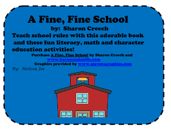 A Fine, Fine School Literacy and Math Activities 2nd/3rd Grade