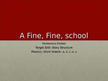 A Fine, Fine School PPT Journeys Lesson 1