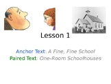 A Fine, Fine School PowerPoint with Weekly Activities for