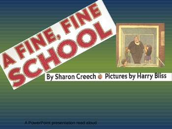 A Fine, Fine School Powerpoint Read Aloud