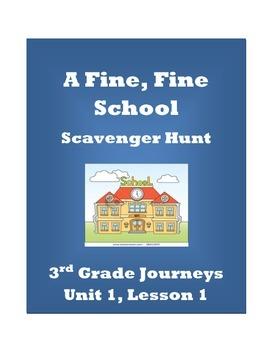A Fine, Fine School Scavenger Hunt