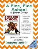A Fine, Fine School Mini Pack Activities 3rd Grade Journey