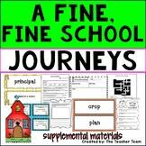 A Fine, Fine School Journeys Third Grade Unit 1 Lesson 1 Activities & Printables