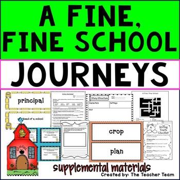 A Fine, Fine School Journeys Third Grade Supplemental Materials