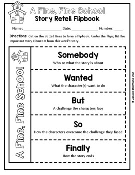 A Fine, Fine School - Supplemental Packet