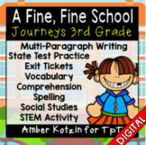 A Fine, Fine School Ultimate Pack: Third Grade Journeys  -