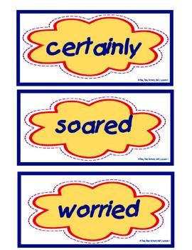 A Fine, Fine School, Vocabulary Cards, Unit 1, Lesson 1, Journeys 3rd Grade