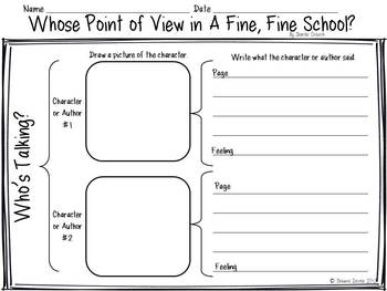 Point of View inspired by A Fine, Fine School by Sharon Creech