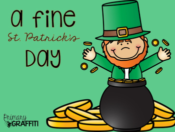 A Fine St. Patrick's Day {Mini Book Companion}