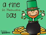 A Fine St. Patrick's Day {Mini Book Companion}