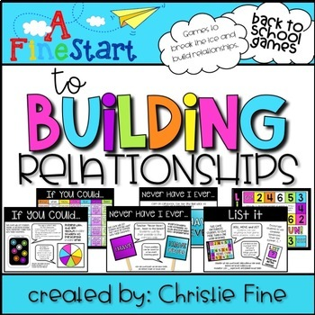 A Fine Start to Building Relationships: Great for Back to School