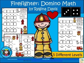 A+ Addition Firefighter: Domino Math