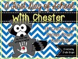 A First Day of School With Chester {Craftivity & Pocket Chart Activity}
