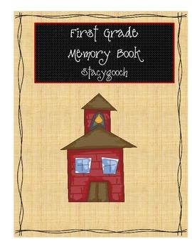 A First Grade Memory Book