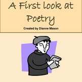 A First Look at Poetry