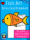 A+ Fish Art: Directed Drawing