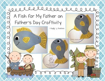 A Fish for My Father on Father's Day Craftivity