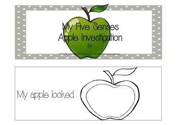 A Five Senses Investigation - Apples