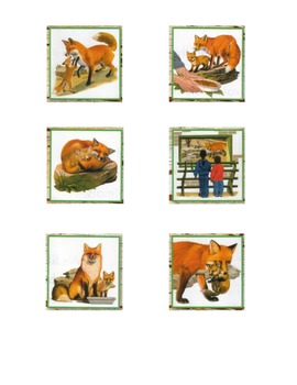 A Fox and a Kit Retelling Sequence